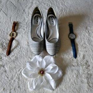 Coach and four beautiful dress heels